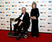 Itzhak Perlman and his wife, Toby, arrive for the formal Artist's Dinner honoring the recipients of the 39th Annual Kennedy Center Honors hosted by United States Secretary of State John F. Kerry at the U.S. Department of State in Washington, D.C. on Saturday, December 3, 2016. The 2016 honorees are: Argentine pianist Martha Argerich; rock band the Eagles; screen and stage actor Al Pacino; gospel and blues singer Mavis Staples; and musician James Taylor.<br /> Credit: Ron Sachs / Pool via CNP
