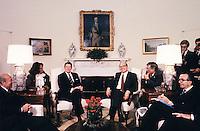 Betino Craxi e Ronald Reagan