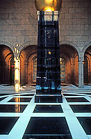 Philip Johnson: AT&T Building--Lobby.  Photo '88.