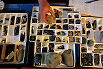 Peopling the Americas; stone tool collection; from 9000 C14; Rick Knecht; Dutch Harbor; Aleution Islands; Alaska