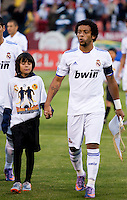 Marcelo. Real Madrid defeated Club America 3-2 at Candlestick Park in San Francisco, California on August 4th, 2010.