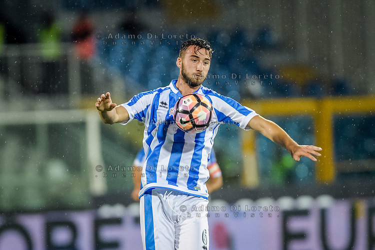 Bryan Cristante (Pescara) during the Italian Serie A football match Pescara vs Torino on September 21, 2016, in Pescara, Italy. Photo di Adamo Di Loreto/BuenaVista*photo