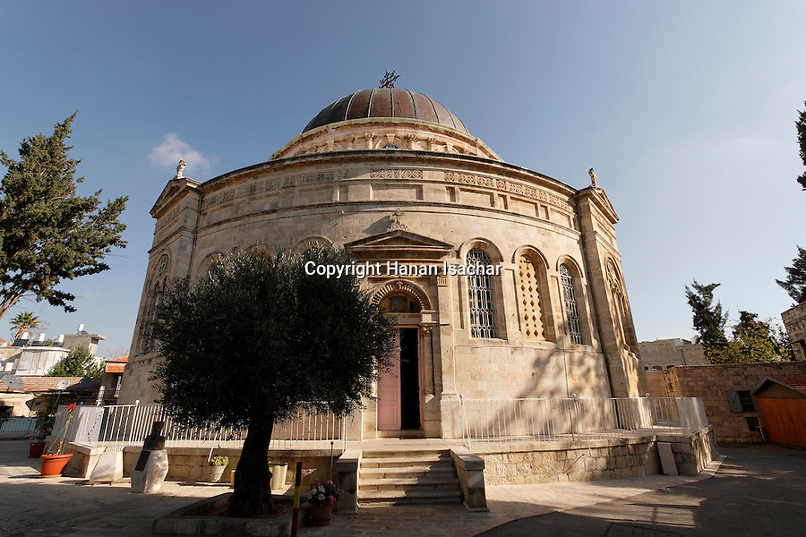 Israel, Jerusalem, The Ethiopian Church was built between 1873 and 1911<br />