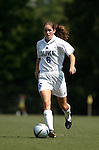 Kelly Hathorn, of Duke, on Sunday September 18th, 2005 at Koskinen Stadium in Durham, North Carolina. The Duke University Blue Devils defeated the University of San Diego Toreros 5-0 during the Duke adidas Classic soccer tournament.
