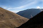 Trekking in Peru, Lares, near Cuzco, PERU, South America
