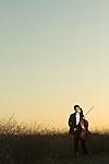 Senior portrait of cello player Phillip Sheegog.