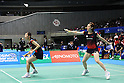 (L to R) Satoko Suetsuna (JPN), Miyuki Maeda (JPN), September 21, 2011 - Badminton : YONEX Open Japan 2011, Women's Doubles at Tokyo Metropolitan Gymnasium, Tokyo, Japan. (Photo by Daiju Kitamura/AFLO SPORT) [1045]