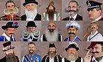 JAMES BOARDMAN / 07967642437 - 01444 412089 .Some of the hundreds of Competitors from around the World arrive at the World Beard and Moustache Championships in Brighton this weekend..Participants are judged in various categories of either moustache, partial beard or full beard. .. .