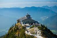 Eagle's Nest, Kehlsteinhaus, Hitler's lair at Berchtesgaden in the Bavarian Alps, Germany