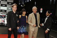 Jan Vogler, Mira Wang and Bill Murray attending the &quot;GQ Men Of The Year&quot; Awards held at Komische Oper, Berlin, Germany, 10.11.2016. <br /> Photo by Christopher Tamcke/insight media /MediaPunch ***FOR USA ONLY***