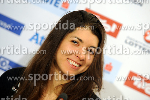 14.02.2014, Austria Tirol House, Krasnaya Polyana, RUS, Sochi, 2014, im Bild MARIA RAMBERGER // MARIA RAMBERGER during the Olympic Winter Games Sochi 2014 at the Austria Tirol House in Krasnaya Polyana, Russia on 2014/02/14. EXPA Pictures © 2014, PhotoCredit: EXPA/ Erich Spiess