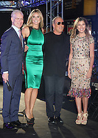 June 15 , 2012 Tim Gunn, Heidi Klum, Michael Kors and Nina Garcia at Project Runway's 10th Anniversary Kick-Off at Times Square in New York City. © RW/MediaPunch Inc.