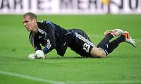 FUSSBALL   1. BUNDESLIGA  SAISON 2011/2012   7. Spieltag FC Bayern Muenchen - Bayer 04 Leverkusen          24.09.2011 Torwart Bernd Leno (Bayer 04 Leverkusen)