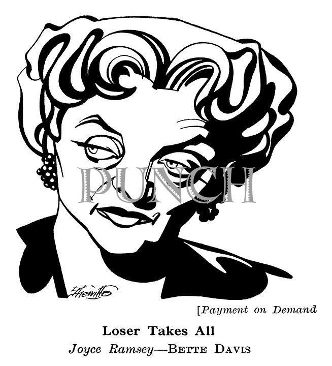 Payment on Demand ; Bette Davis