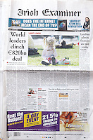 Dublin based PR Photo Agency Collins Photos newspaper Tear Sheets