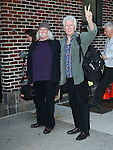 """Celebrities visit """"Late Show with David Letterman"""" November 8, 2011"""