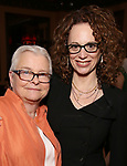 Paula Vogel and Rebecca Taichman attends the 2017 New York Drama Critics' Circle Awards Reception at Feinstein's / 54 Below on 5/18/2017 in New York City.
