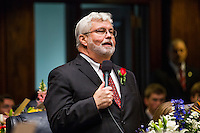 TALLAHASSEE, FLA. 3/3/15-Sen. Jack Latvala, R-Clearwater, speaks during the opening day of the 2015 Legislative Session Tuesday at the Capitol in Tallahassee.<br /> <br /> COLIN HACKLEY PHOTO