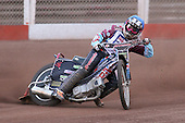 Heat 7: Robert Mear of Lakeside - Lakeside Hammers vs Wolverhampton Wolves - Elite League Speedway at Arena Essex Raceway - 16/05/11 - MANDATORY CREDIT: Gavin Ellis/TGSPHOTO - Self billing applies where appropriate - Tel: 0845 094 6026