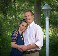 Michelle & Brian'sengagement session at their home in Gibsonia, PA on June 1, 2014.