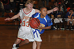 Oxford Middle School's Barry Flowers (15) vs. Lafayette Middle School in boys middle school basketball action in Oxford, Miss. on Thursday, January 17, 2013. Oxford won.