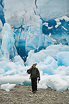 Art Wolfe on location in Glacier Bay National Park, Alaska.
