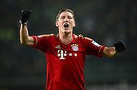 Fussball Bundesliga 2012/13: Wolfsburg - Bayern Muenchen