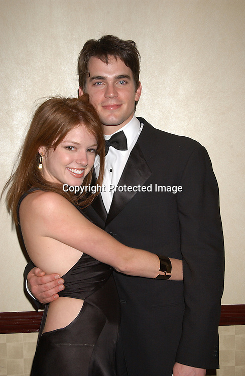 Matthew Bomer & Aubrey Dollar  at the 30th Annual Creative Craft Daytime EmmyAwards on May 10,2003 at the Marriott.Marquis in NYC..Photo by Robin Platzer, Twin Images.