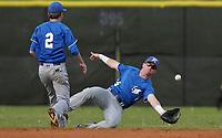 NWA Democrat-Gazette/BEN GOFF @NWABENGOFF<br /> Bentonville vs Rogers baseball Monday, April 17, 2017, at the Tiger Athletic Complex in Bentonville.