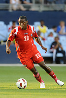 Luis Tejada forward Panama in action...Canada and Panama tied 1-1 in Gold Cup play at LIVESTRONG Sporting Park, Kansas City, Kansas.