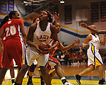 Oxford High vs. North Panola in girls high school basketball in the OTown Showdown in Oxford, Miss. on Wednesday, December 28, 2011.