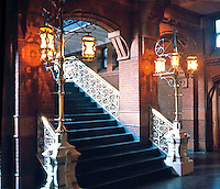 Frank Furness: U. of Pennsylvania Library--Interior.  Photo '85.