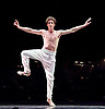 English National Ballet <br /> Emerging Dancer 2016 <br /> at the Palladium, London, Great Britain <br /> 17th May 2016 <br /> rehearsals<br /> <br /> <br /> solo <br /> <br /> <br /> Daniele Silingardi<br /> <br /> <br /> <br /> <br /> Photograph by Elliott Franks <br /> Image licensed to Elliott Franks Photography Services