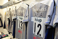 A general view of the matchday jersey of Ben Tapuai of Bath Rugby. Aviva Premiership match, between Harlequins and Bath Rugby on November 27, 2016 at the Twickenham Stoop in London, England. Photo by: Patrick Khachfe / Onside Images