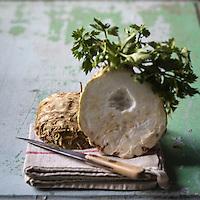 C&eacute;leri-rave bio - Stylisme : Val&eacute;rie LHOMME<br /> Organic Celery - Stylist: Val&eacute;rie LHOMME