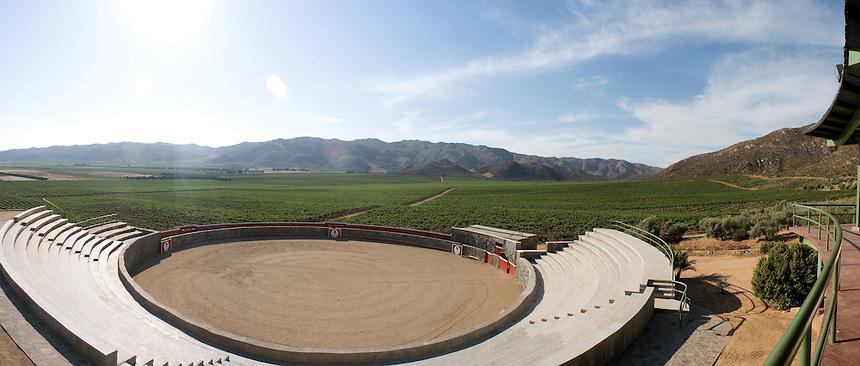 L. A. Cetto winery. Valle de Guadalupe. Press tour around Baja California Norte