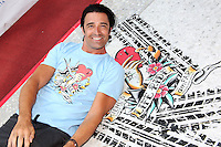 PHILADELPHIA, PA - AUGUST 12 :  Actor Gilles Marini pictured at the Kiehl's 7th Annual LifeRide For amfAR at Kiehl's in Philadelphia, Pa on August 12, 2016 photo credit Star Shooter/MediaPunch