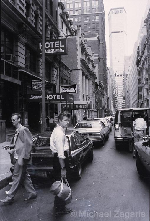Chris Isaak, New York City, 1984