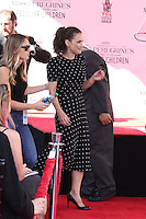 HOLLYWOOD, CA - SEPTEMBER 08: Winona Ryder attends Director Tim Burton attends his Hand and Footprint Ceremony at TCL Chinese Theatre IMAX on September 8, 2016 in Hollywood, California. (Credit: Parisa/MediaPunch LTD.)