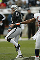 SEBASTIAN JANIKOWSKI, of the Oakland Raiders  in action during the Raiders game against the  Denver Broncos on December 2, 2007 in Oakland, California...RAIDERS  win 34-20..SportPics