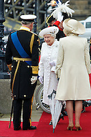 The Queen at The Thames Pageant, Chelsea Harbour