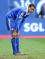 FUSSBALL   1. BUNDESLIGA  SAISON 2011/2012   32. Spieltag FC Augsburg - FC Schalke 04         22.04.2012 Joel Matip (FC Schalke 04)