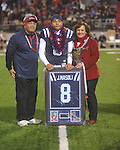 Ole Miss quarterback Jeremiah Masoli (8) on Senior Day at Vaught-Hemingway Stadium in Oxford, Miss. on Saturday, November 27, 2010.