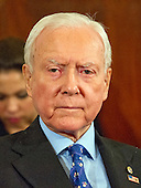 United States Senator Orrin Hatch (Republican of Utah), the president pro tempore of the US Senate, at the US Senate Judiciary Committee confirmation hearing on the nomination of US Senator Jeff Sessions (Republican of Alabama) to be Attorney General of the United States on Capitol Hill in Washington, DC on Tuesday, January 10, 2017.<br /> Credit: Ron Sachs / CNP