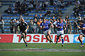 APRIL 1, 2012 - Rugby : APRIL 1, 2012 - Rugby : HSBC Sevens World Series Tokyo Sevens 2012, Samoa 17-12 New Zealand at Chichibunomiya Rugby Stadium, Tokyo, Japan. (Photo by Atsushi Tomura /AFLO SPORT) [1035]