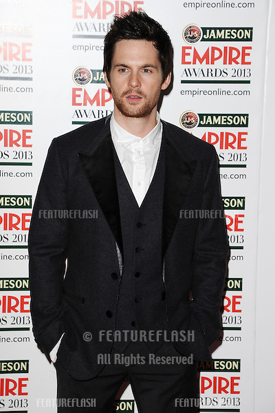 Tom Riley arrives for the Empire Film Awards 2013 at the Grosvenor House Hotel, London. 24/03/2013 Picture by: Steve Vas / Featureflash