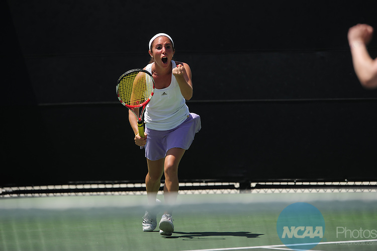26 MAY 2011: The Division III Women's Tennis Championship held at the Biszantz Family Tennis Center and Pauley Tennis Complex in Claremont, CA. Williams defeated Amherst 5-4 for the national title. Stephen Nowland/NCAA Photos
