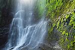 Waterfall, Unalaska Island, Alaska, USA