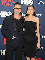 New York, NY- May 12: Brad Pitt and Angelina Jolie attend the  New York premiere of Normal Heart on May 12, 2014 at the Ziegfeld Theater in New York City. Credit: John Palmer/MediaPunchNew York, NY- May 12: Brad Pitt and Angelina Jolie attend the  New York premiere of Normal Heart on May 12, 2014 at the Ziegfeld Theater in New York City. Credit: John Palmer/MediaPunch