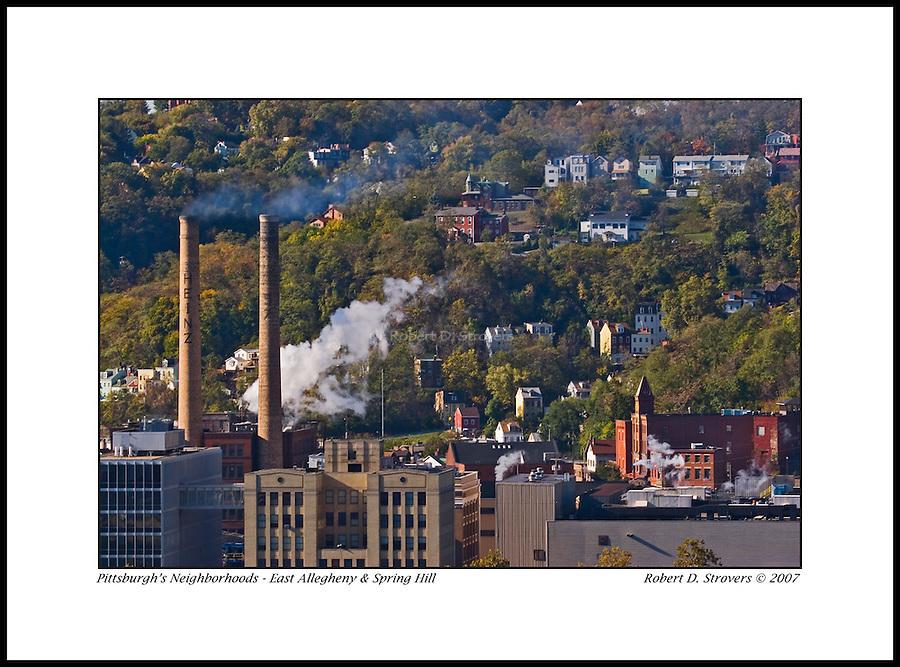 Pittsburgh's Neighborhoods - Heinz and Northside